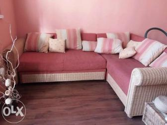Rattan sarokülőgarnitúra - Eladó használt és új bútor